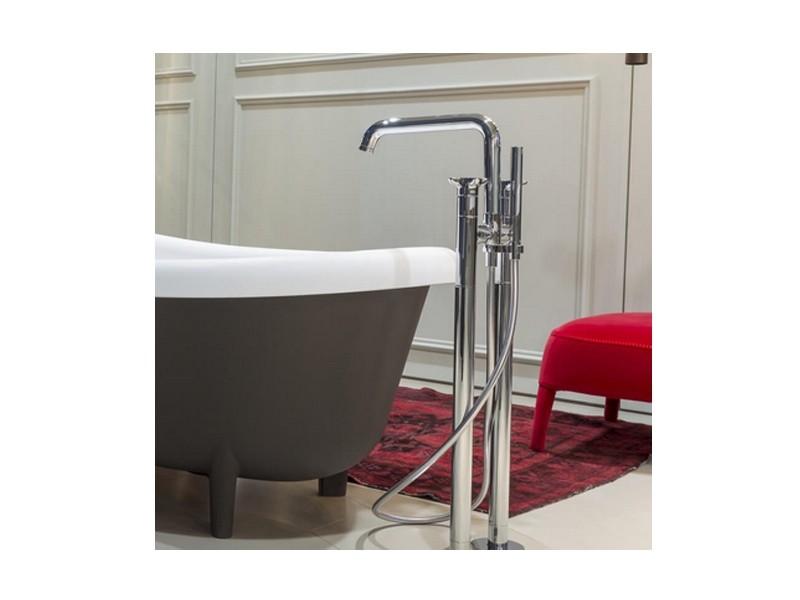 robinet de douche 5 trous Bronze 3 poign/ées WAZA Andere L/änder Ensemble de robinet de baignoire